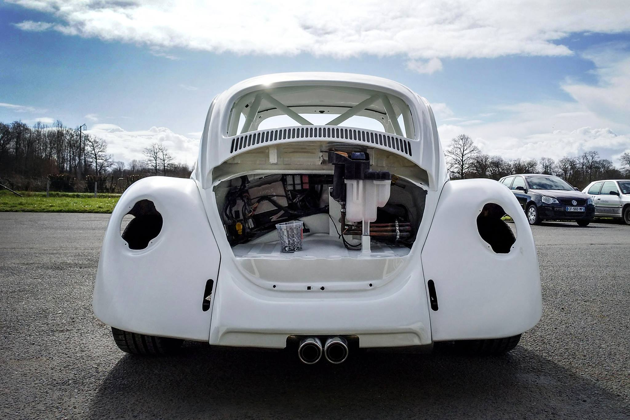 Vw Beetle Body On A Porsche Boxster Chassis Engine Swap Depot