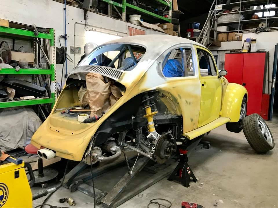 vw beetle body on a porsche boxster chassis engine swap Door Wiring Harness