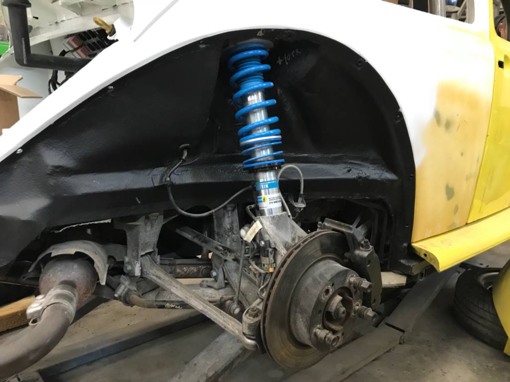 Vw Beetle Body On A Porsche Boxster Chassis  U2013 Engine Swap Depot