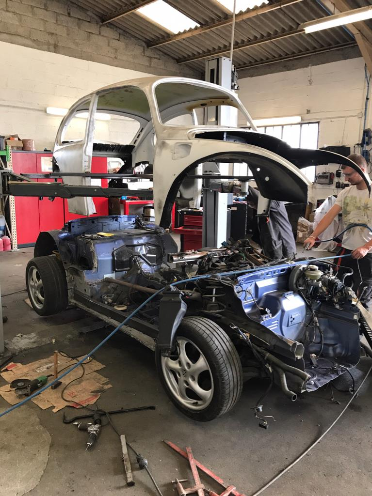 Vw Beetle On A Porsche Boxster Chassis on Engine Wiring Harness