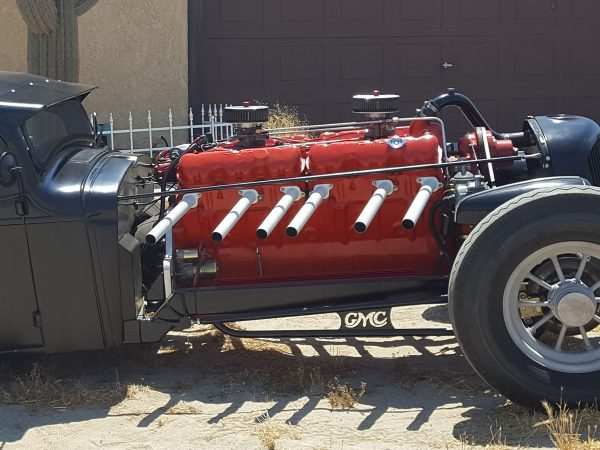 1935 GMC Rat Rod with a 702 ci V12