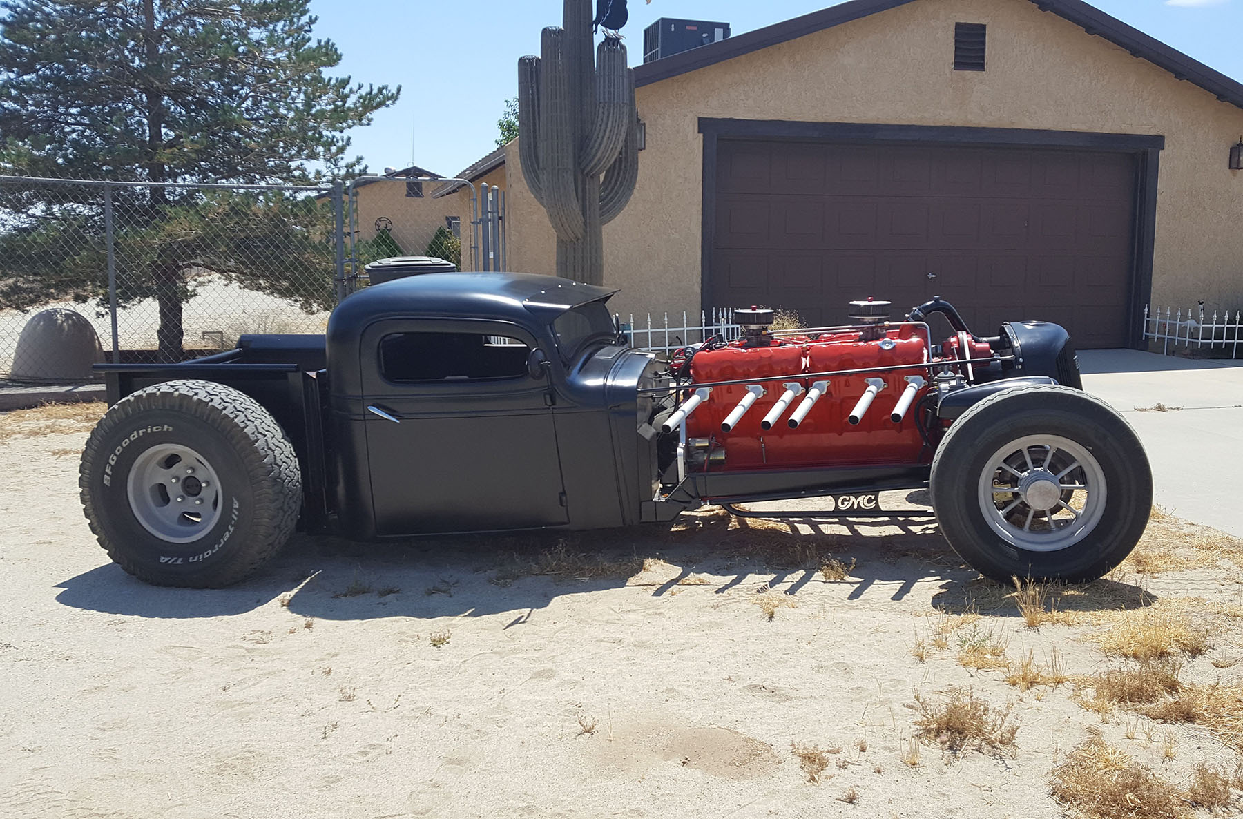 1935 GMC Rat Rod with a 702 ci Twin Six V12 – Engine Swap Depot