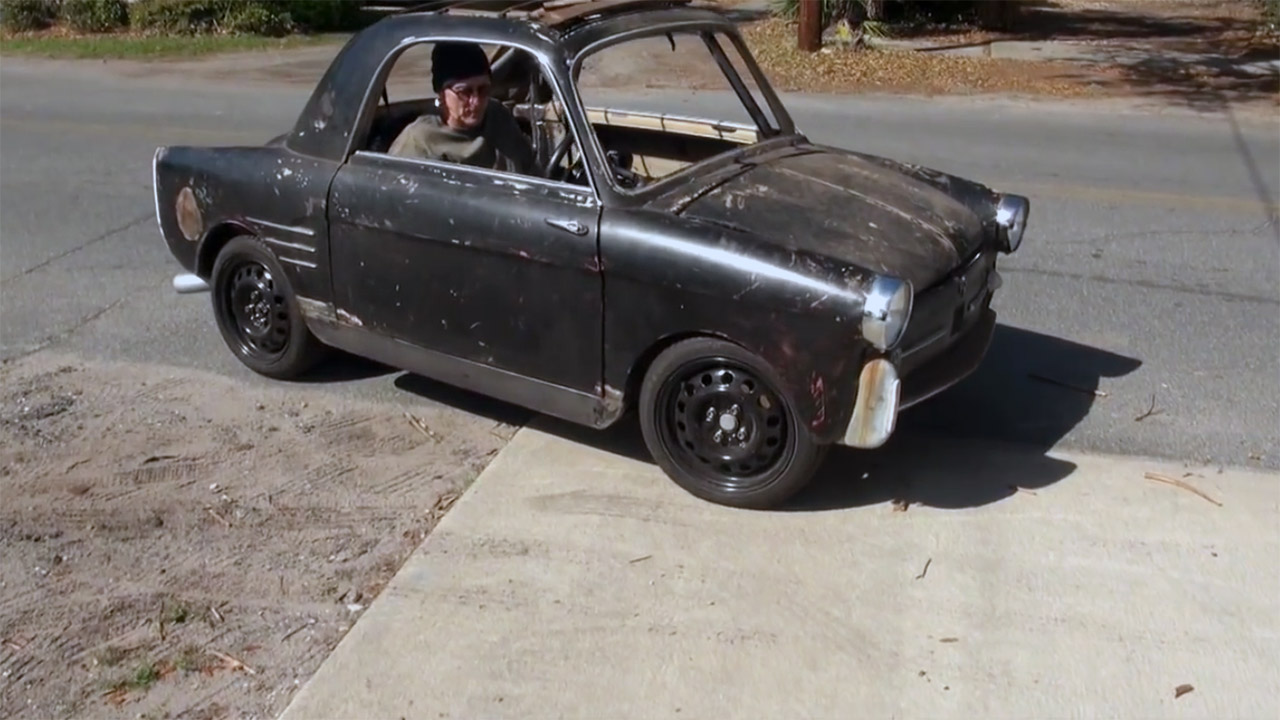 1959 Autobianchi Bianchina with a Motorcycle Inline-Four – Test