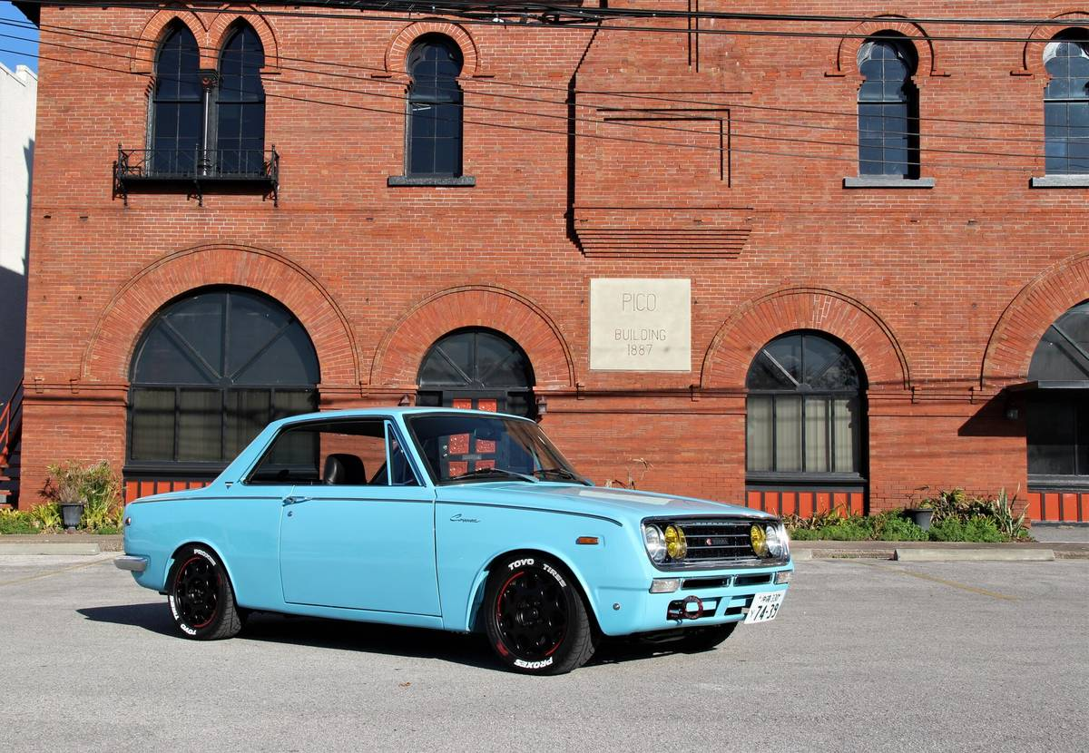 For Sale: 1969 Toyota Corona with a 20/22R Inline-Four – Engine Swap