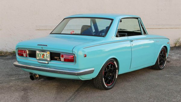 1969 Toyota Corona with a 20-22R inline-four