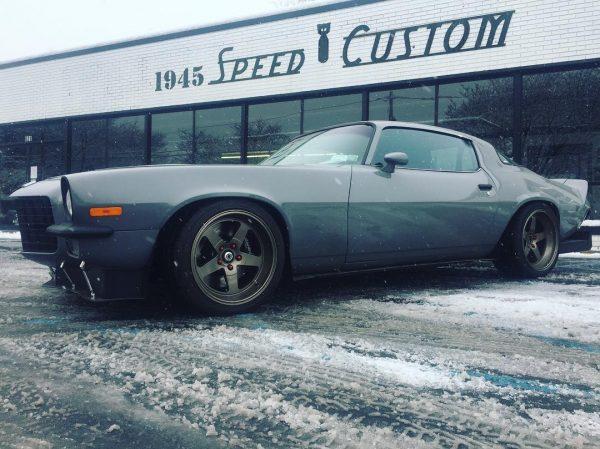 1979 Camaro with a turbo 1JZ inline-six