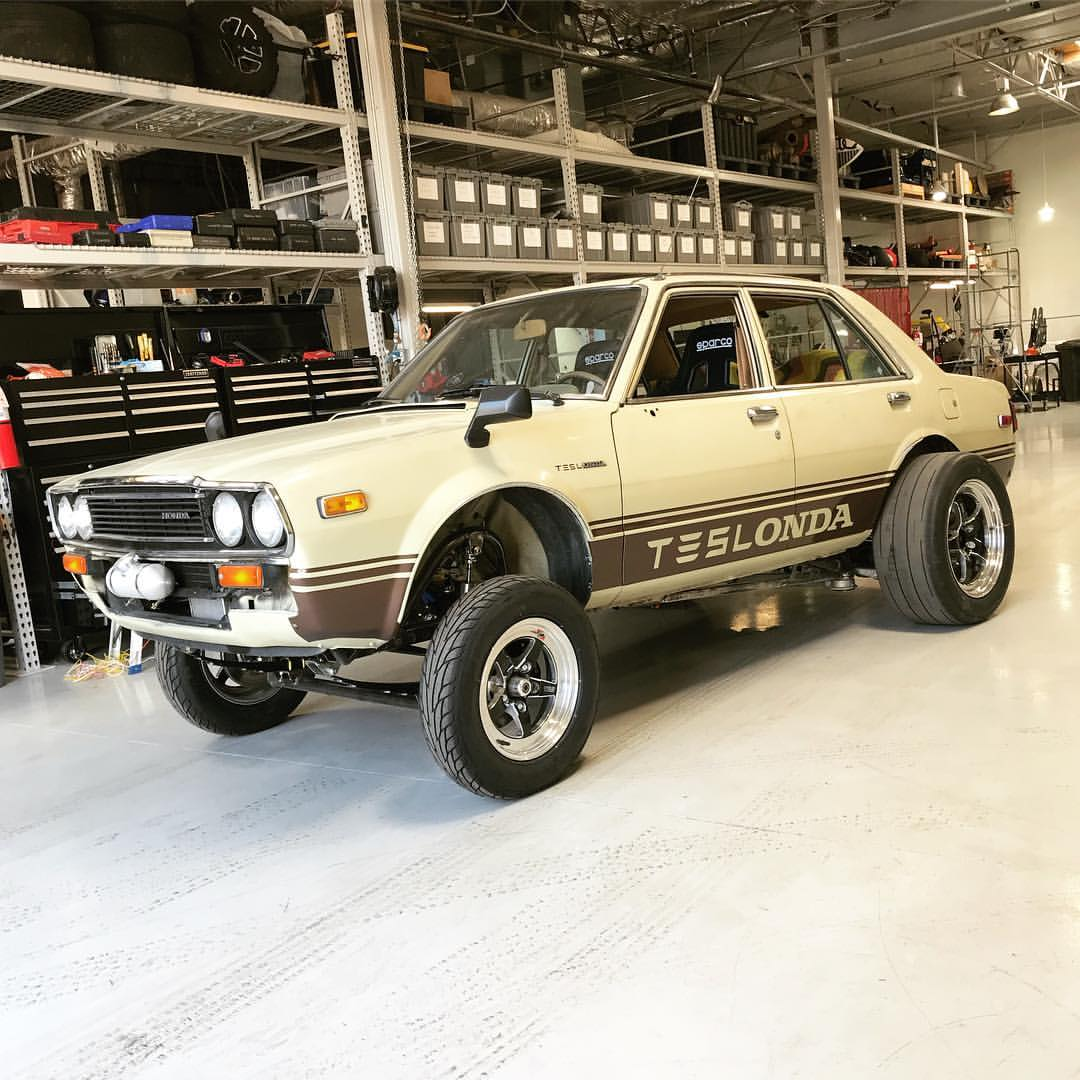 Teslonda Is A 1981 Honda Accord With An Electric Powertrain Owned By Jim  Belosic. In Our Previous Article We Said The Tesla Electric Motor And Chevy  Volt ...