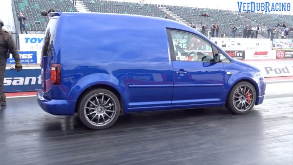 2006 VW Caddy with a Golf R Turbo Inline-Four