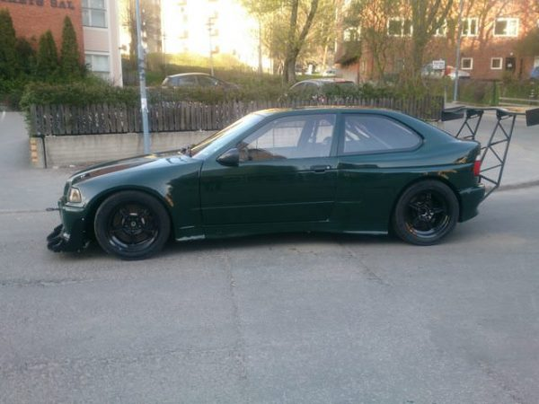 AWD BMW E36 with a Turbo M54 Inline-Six
