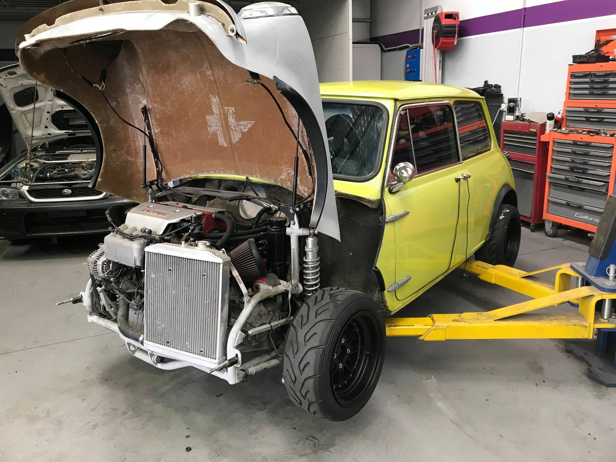 awd mini with a k20 inline