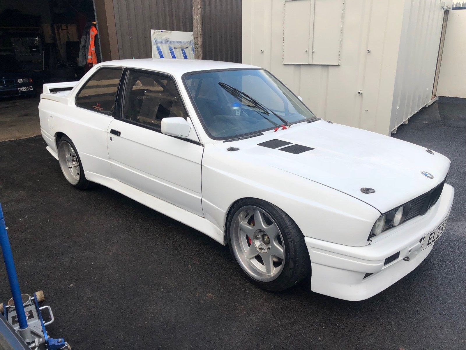 For Sale: BMW E30 With A Supercharged F20 Inline-Four