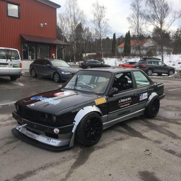 BMW E30 with a Turbo 2JZ Inline-Six