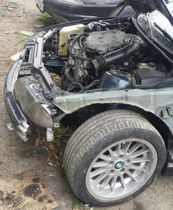 BMW E46 with a VQ35 V6