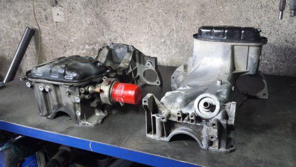 VQ35 V6 oil pans