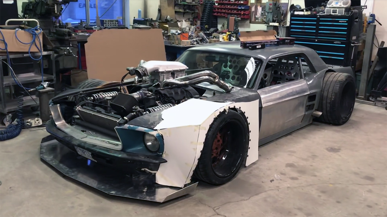 custom 1967 mustang with a corvette powertrain update 3