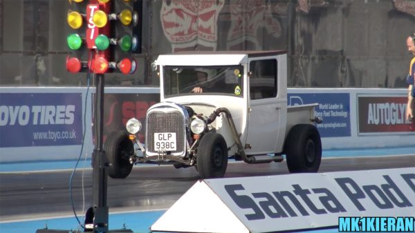 Ford Model A with a Turbo Zetec Inline-Four