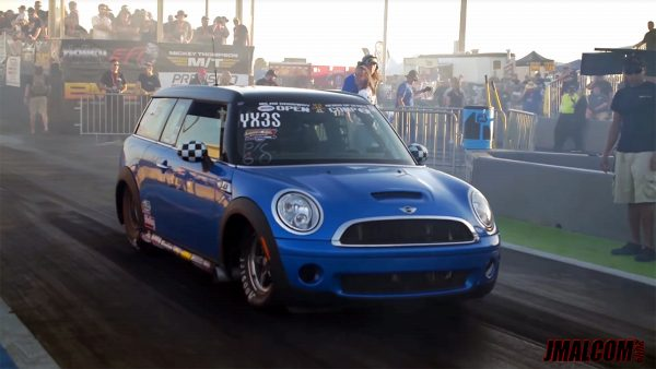 Mini Clubman with a Big-Block Chevy V8