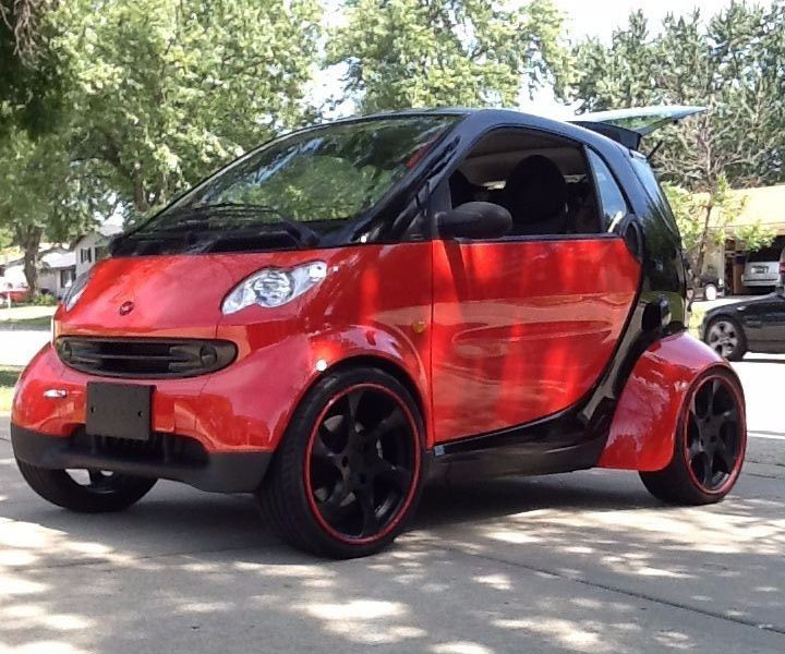 Smart Fortwo Smartacus with a Hayabusa inline-four