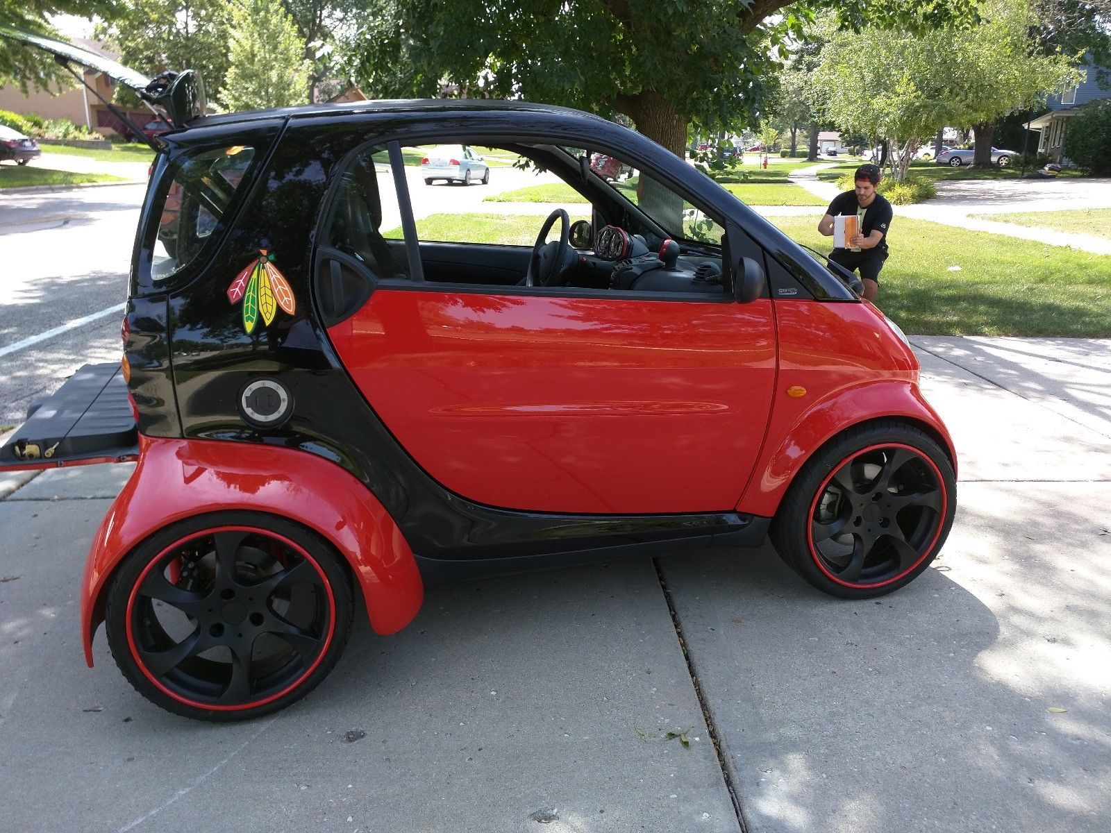for sale smart fortwo with a hayabusa engine engine swap depot. Black Bedroom Furniture Sets. Home Design Ideas