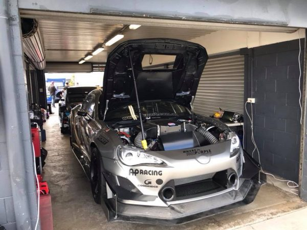 Toyota 86 with a VK56 V8