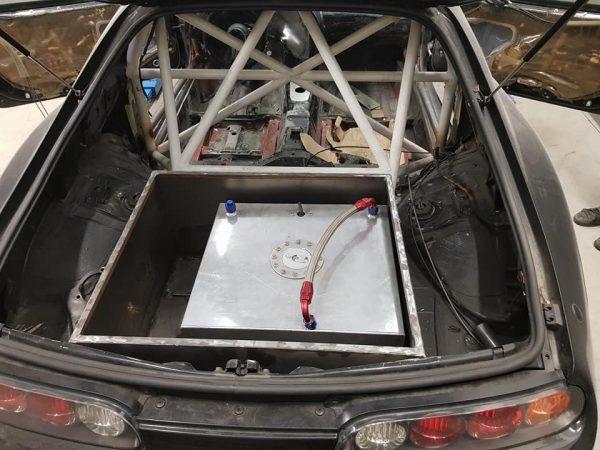 Toyota Supra with a Turbo S50 Inline-Six
