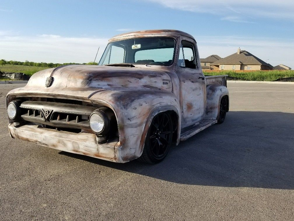 For Sale: 1953 Ford F-100 with a Coyote V8 – Engine Swap Depot