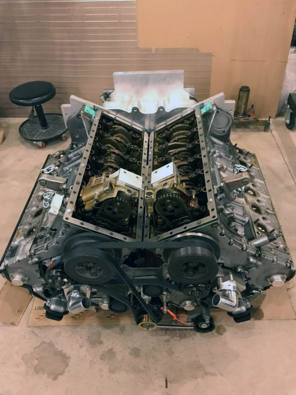 1957 Chevy with Twin BMW V12 Engines