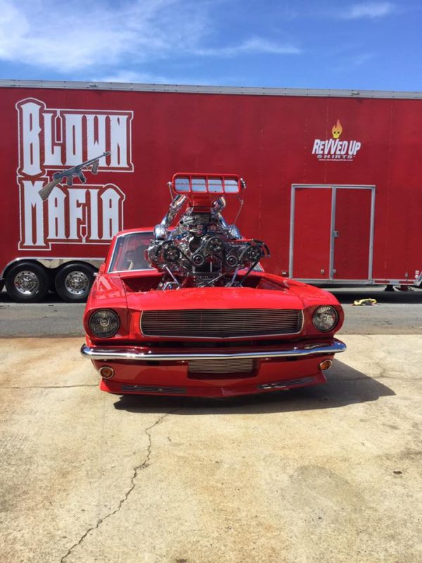 1965 Mustang with a Triple-Supercharged LSx V8
