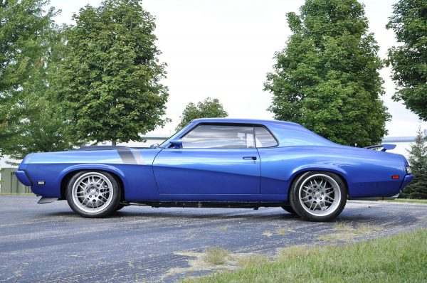 1969 Cougar with a 5.0 L Coyote V8