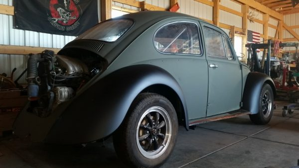 1970 VW Beetle with a 2.0 L ABA inline-four