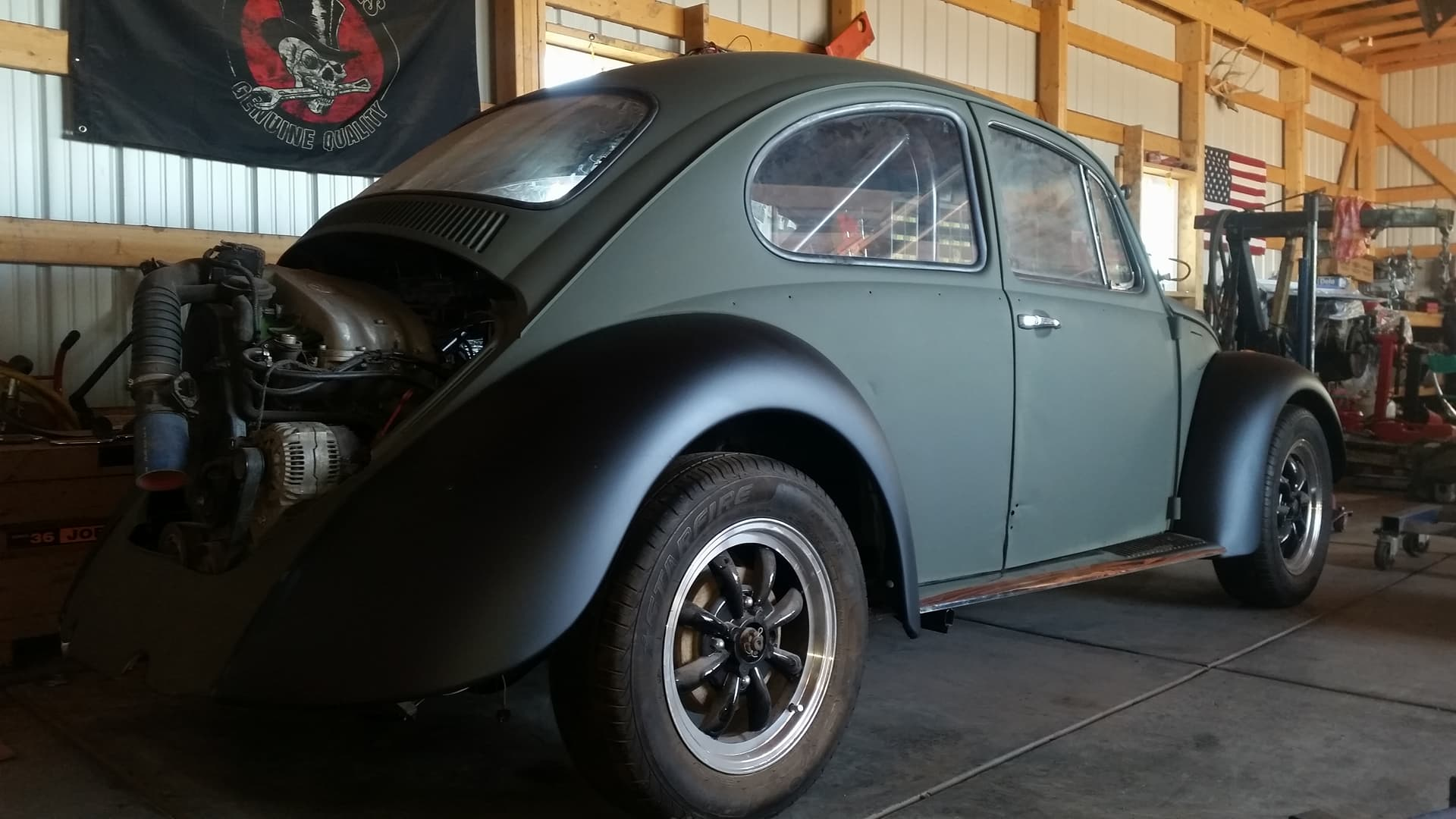 1970 Beetle with a 2 0 L Inline-Four – Engine Swap Depot