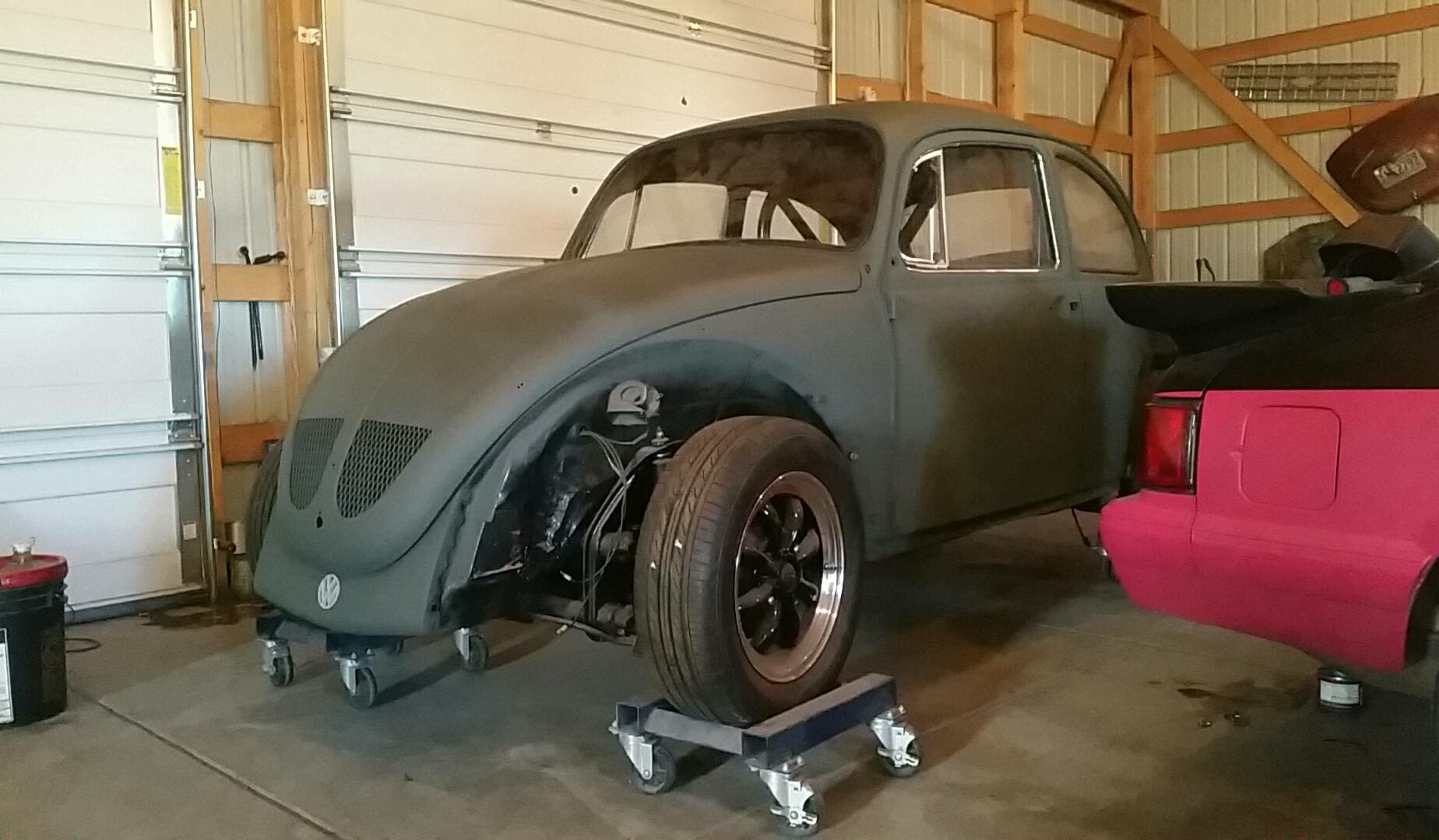 1970 Beetle With A 20 L Inline Four Engine Swap Depot 1998 Volkswagen Door Wiring Harness Ford Fuel Pump Will Fed The And Volvo Radiator Cools It Mike Rebuilt Front Rear Suspension Kyb Shocks Installed Disc