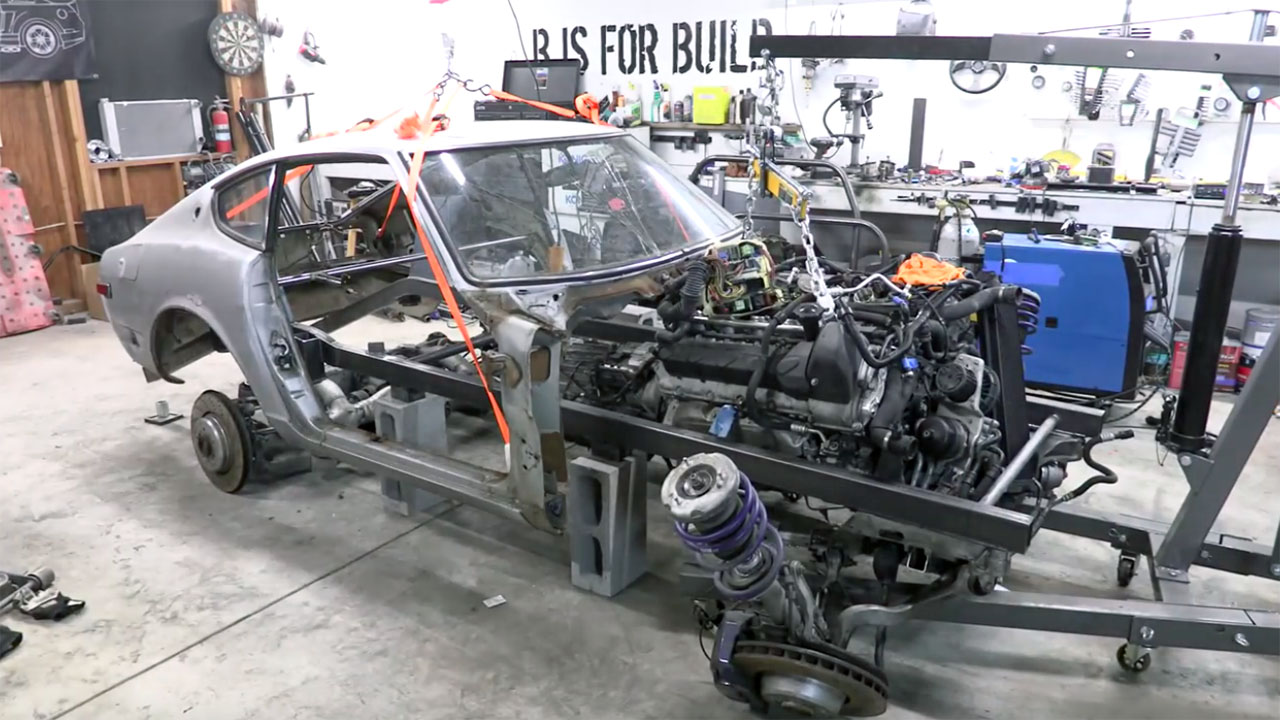 1973 datsun 240z with a bmw v10 update 7 engine swap depot Lt1 Wiring Harness Conversion TBI Conversion Wiring Harness