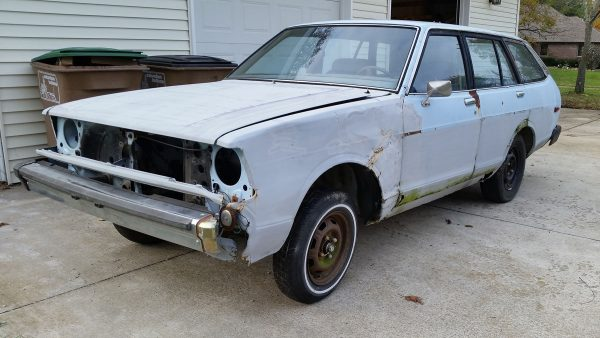1980 Datsun 210 without engine and transmission