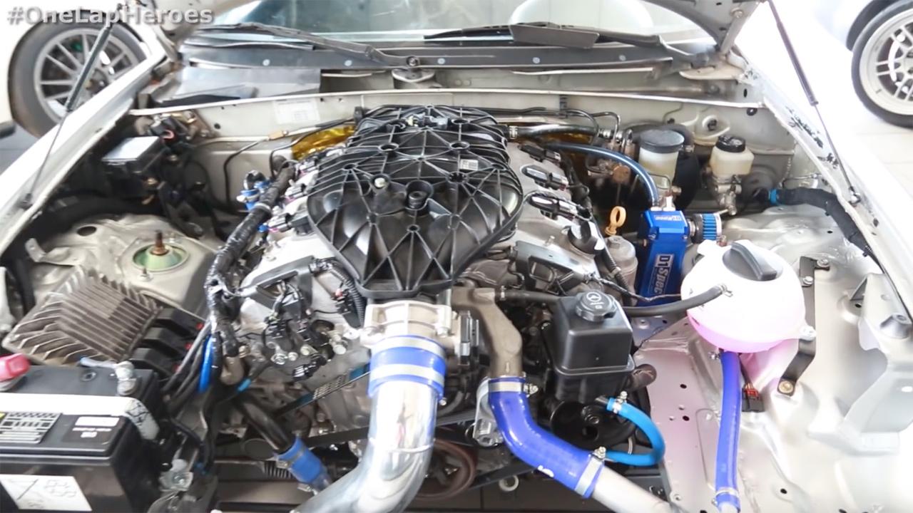 Mazda MX 5 with a LFX V6 ndash Part 2 ndash Engine Swap Depot