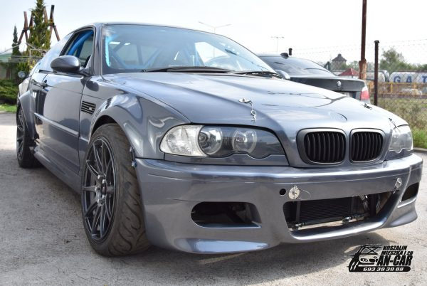 BMW E46 with a Mercedes M156 V8