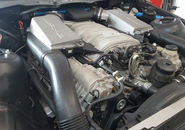 BMW E46 with a Mercedes M156 V8