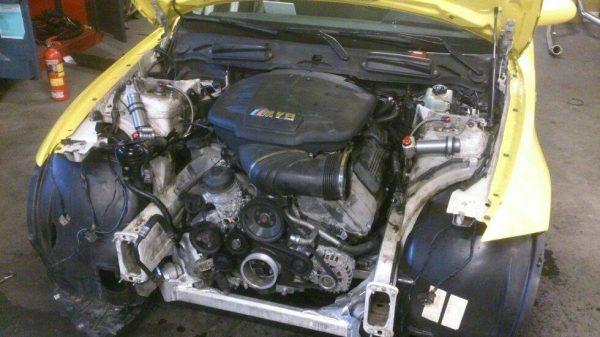 BMW E87 with a S65 V8