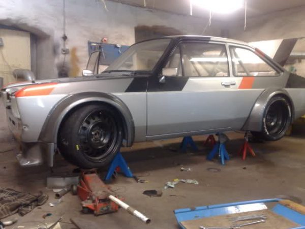 Ford Escort with a Turbo Audi Inline-Five