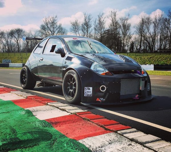 Ford SportKa with a 4G63T and Evo 4WD drivetrain