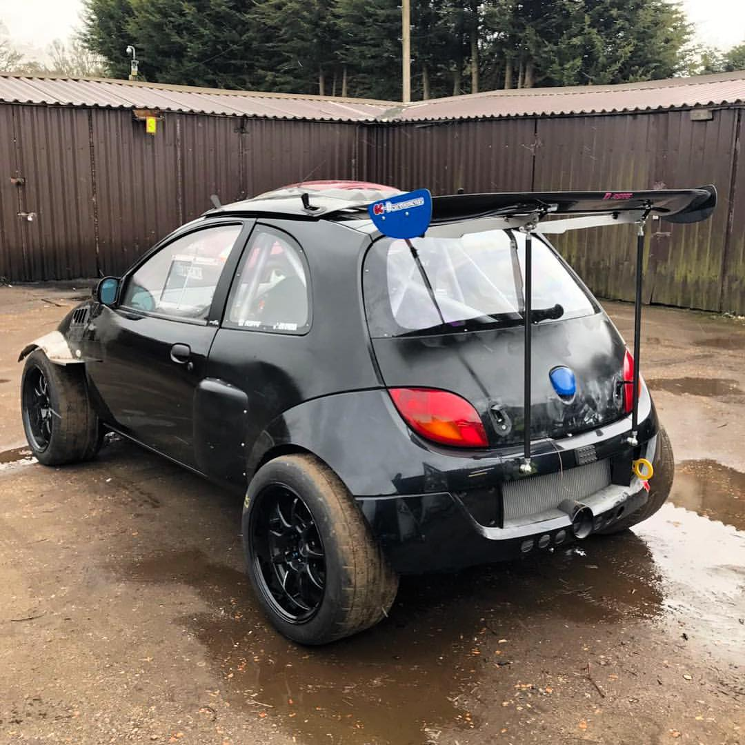 ford sportka with an evo powertrain. Black Bedroom Furniture Sets. Home Design Ideas