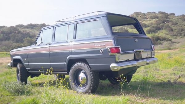 ICON 1965 Kaiser Jeep Wagoneer with a LS3 V8