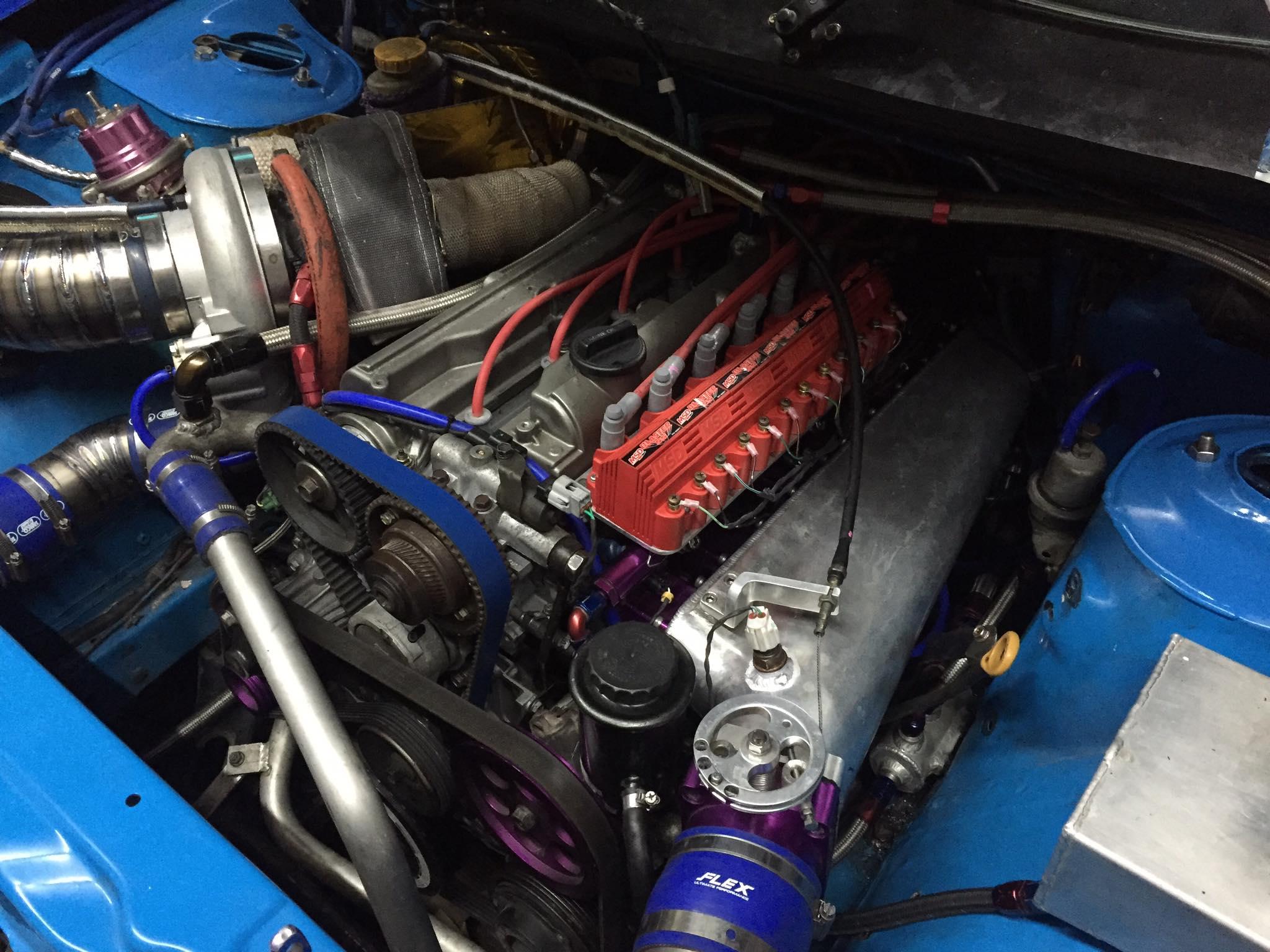 Isuzu D-Max with a Turbo 3 4 L 2JZ Inline-Six