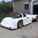 Porsche 962C replica with a 997 GT3 flat-six