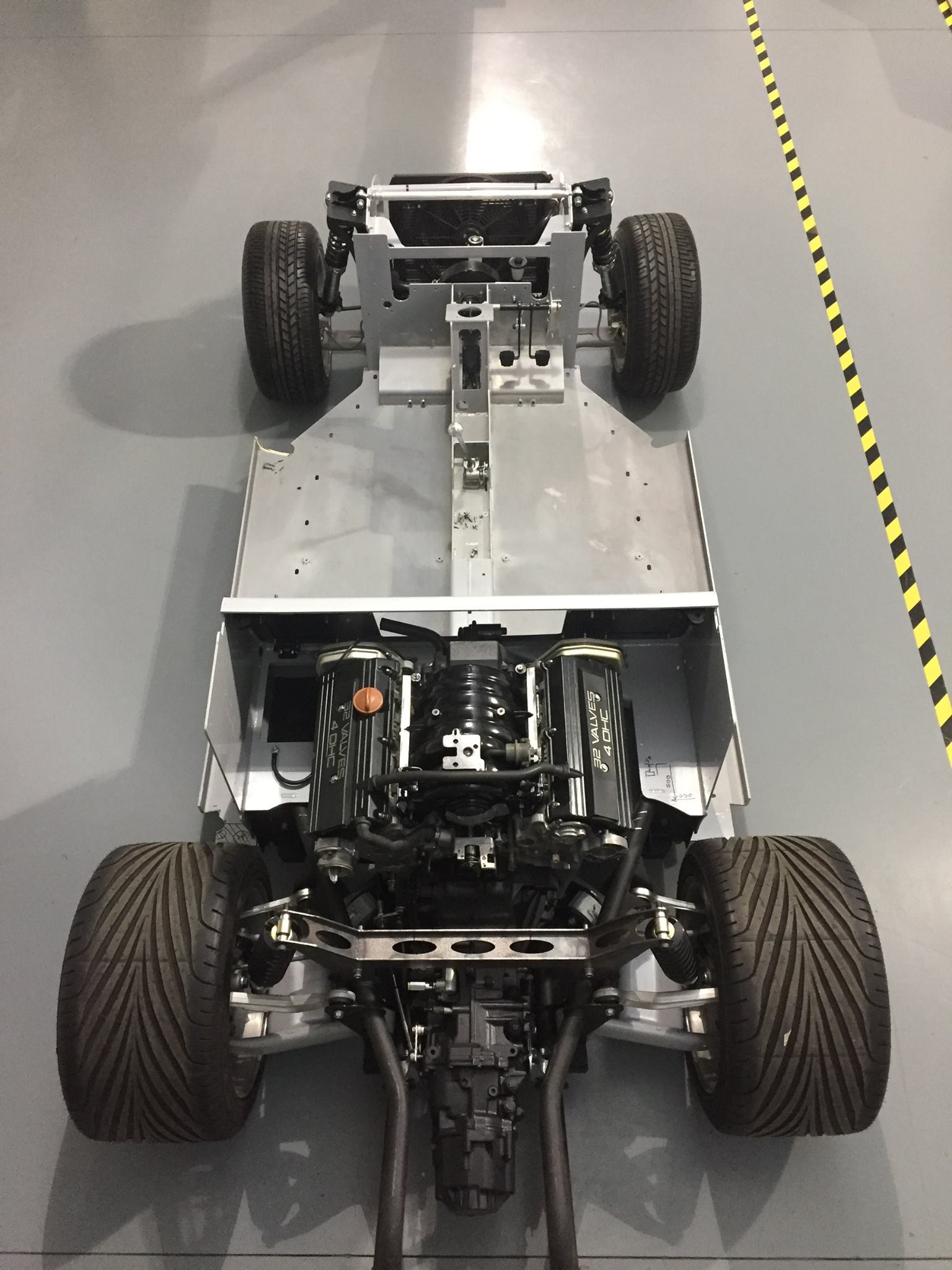 Custom Beetle With A Twin Turbo Audi 4 2 L V8 Engine