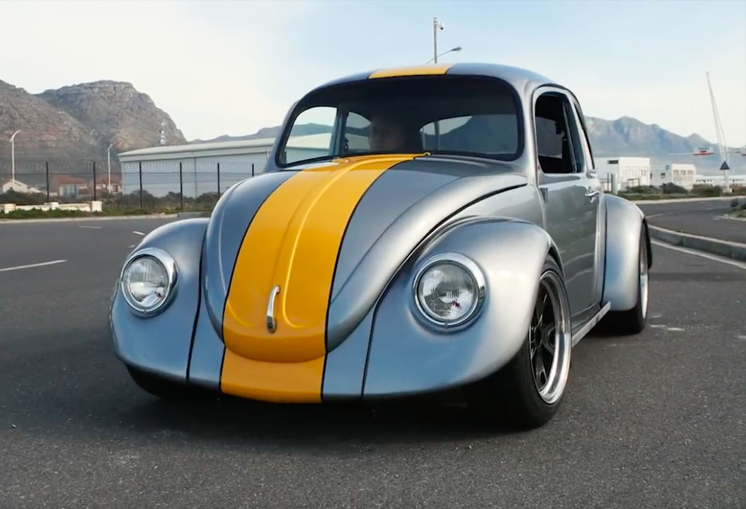 Stealth Beetle With A Twin Turbo Audi V on Vw Beetle Engine Swap Kits