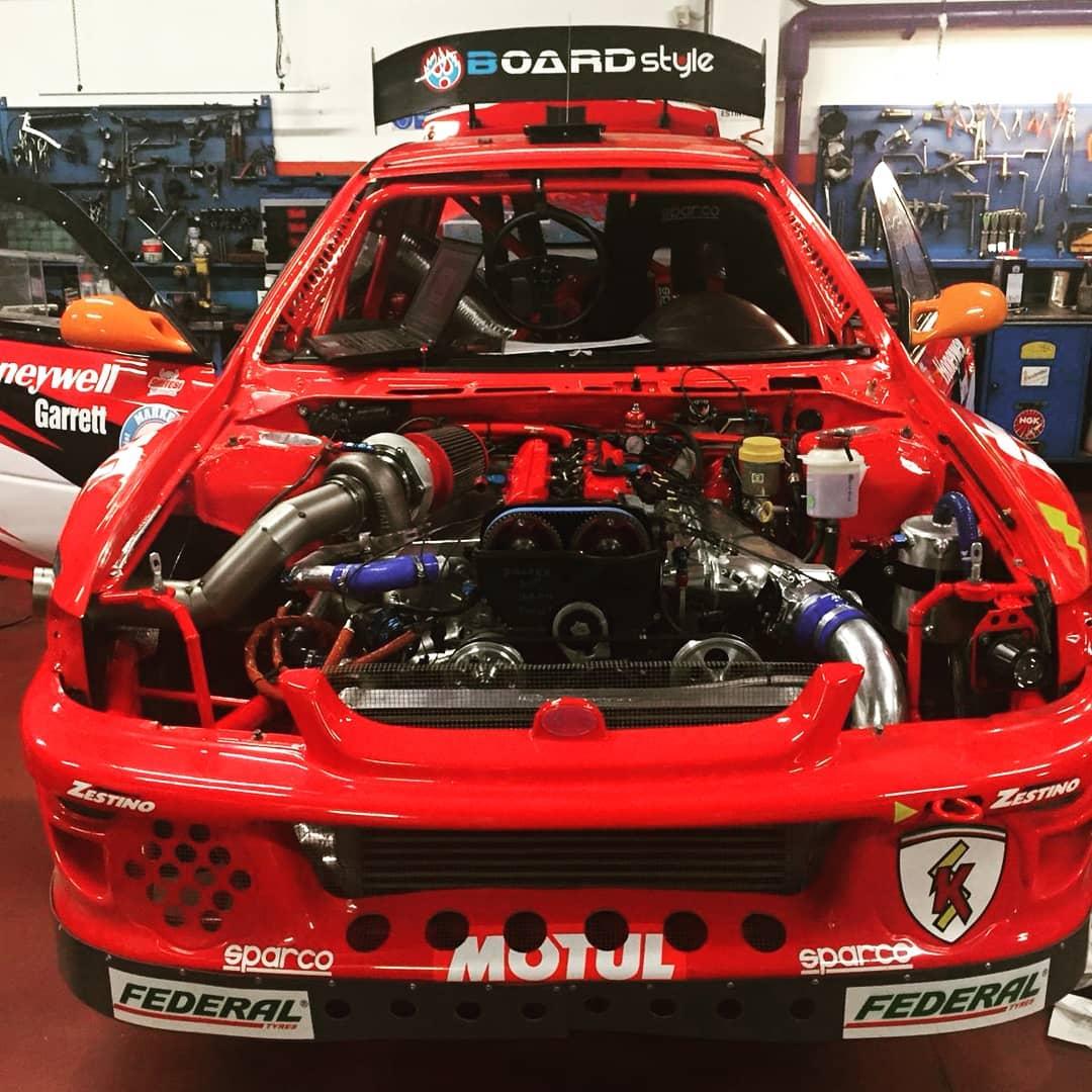 Subaru Impreza with a Turbo 2JZ Inline-Six – Engine Swap Depot