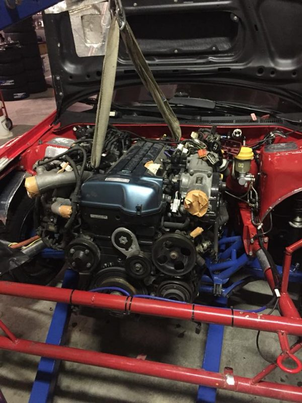 Subaru Impreza with a Turbo 2JZ Inline-Six