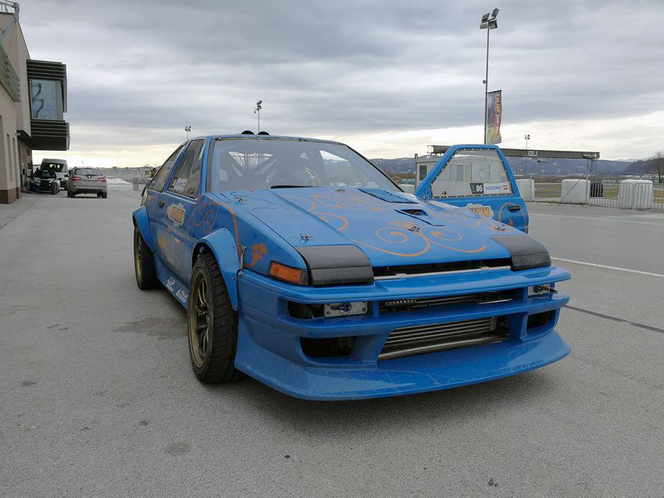 Toyota AE86 with a Turbo 2.3 L SR20 Inline-Four – Engine Swap Depot