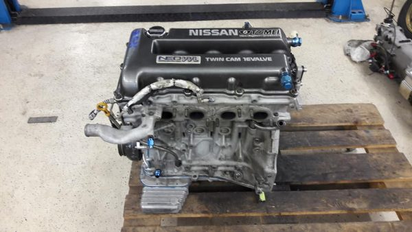 Toyota AE86 with a Turbo 2.3 L SR20 Inline-Four